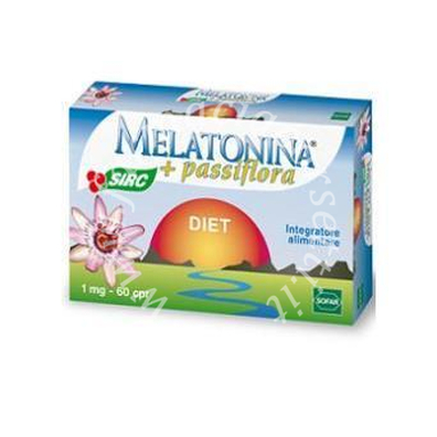 Melatonina Diet+passiflora 60 compresse