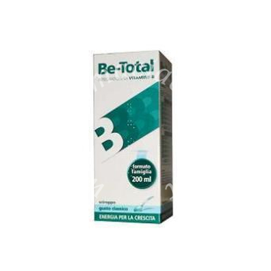 Be-Total Sciroppo Latte 200ml
