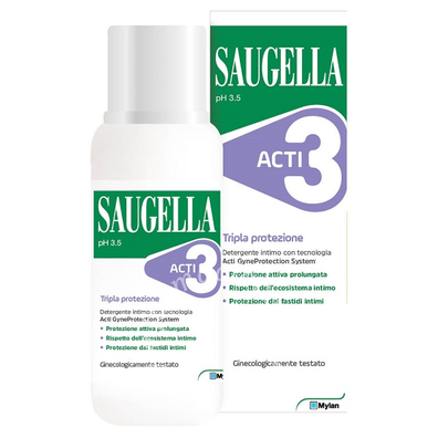 Saugella Act 3 Int 250ml